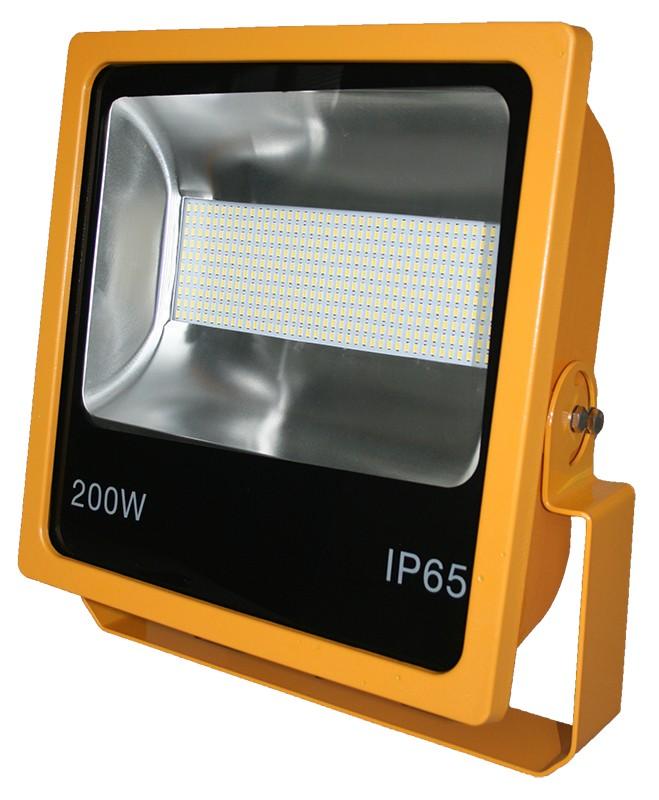 200W SMD LED Floodlight 6500K Yellow