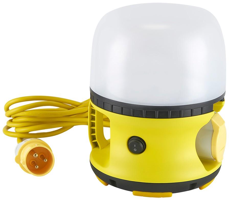 30w LED Globe Light 110V 5m cable 16A Ind plug/skt IP54 Em