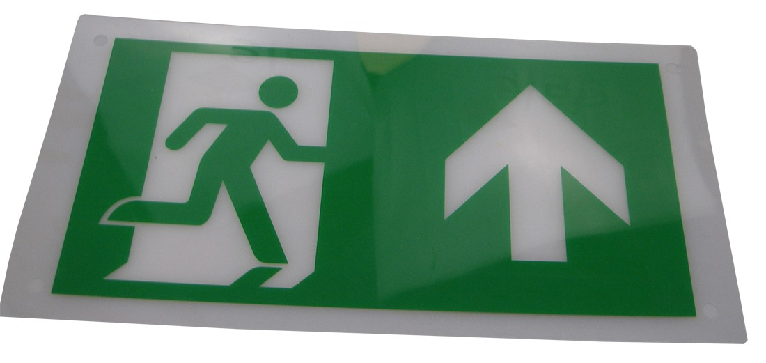 Exit Legend for HTLEDSM-1/HTLEDCWM - Arrow Up