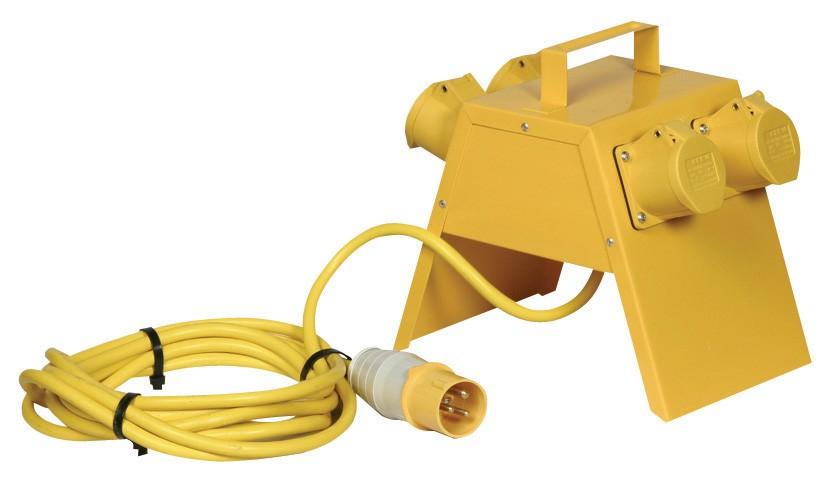 Splitter Box - 4 x 16A - 110V