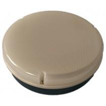 Circular Bulkhead - Black Base - HLT Diffuser - for LED Tray