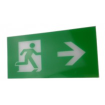 Exit Legend For Exit Box - Arrow points right