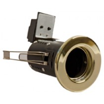 Fire Rated Downlight GU10 Fixed - Brass