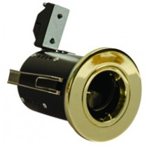 Fire Rated Downlight GU10 Fixed - Brass - Diecast