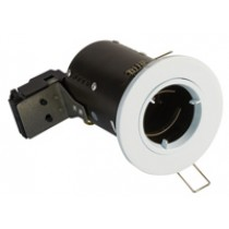Fire Rated Downlight GU10 Fixed - White - Diecast