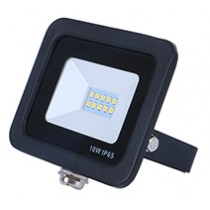 10w SMD AC Floodlight - 6000k - Black