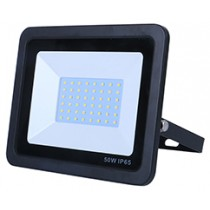 50w SMD AC Floodlight - 6000k - Black