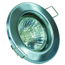 GU10 Downlight - Fixed - Satin Chrome
