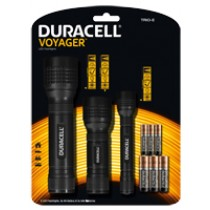 Voyager Triple LED Torch Promo Pack incl 11 Batteries