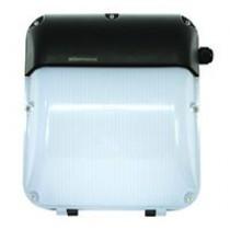 Slimline Wallpack 30W 6400K LED c/w Photocell