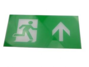 Exit Legend For Exit Box - Arrow points up