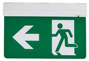 5 in 1 LED Exit sign excluding legend