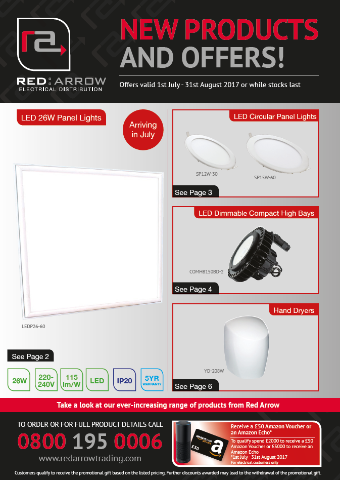 Red Arrow Launches July/August Promotional Mailer