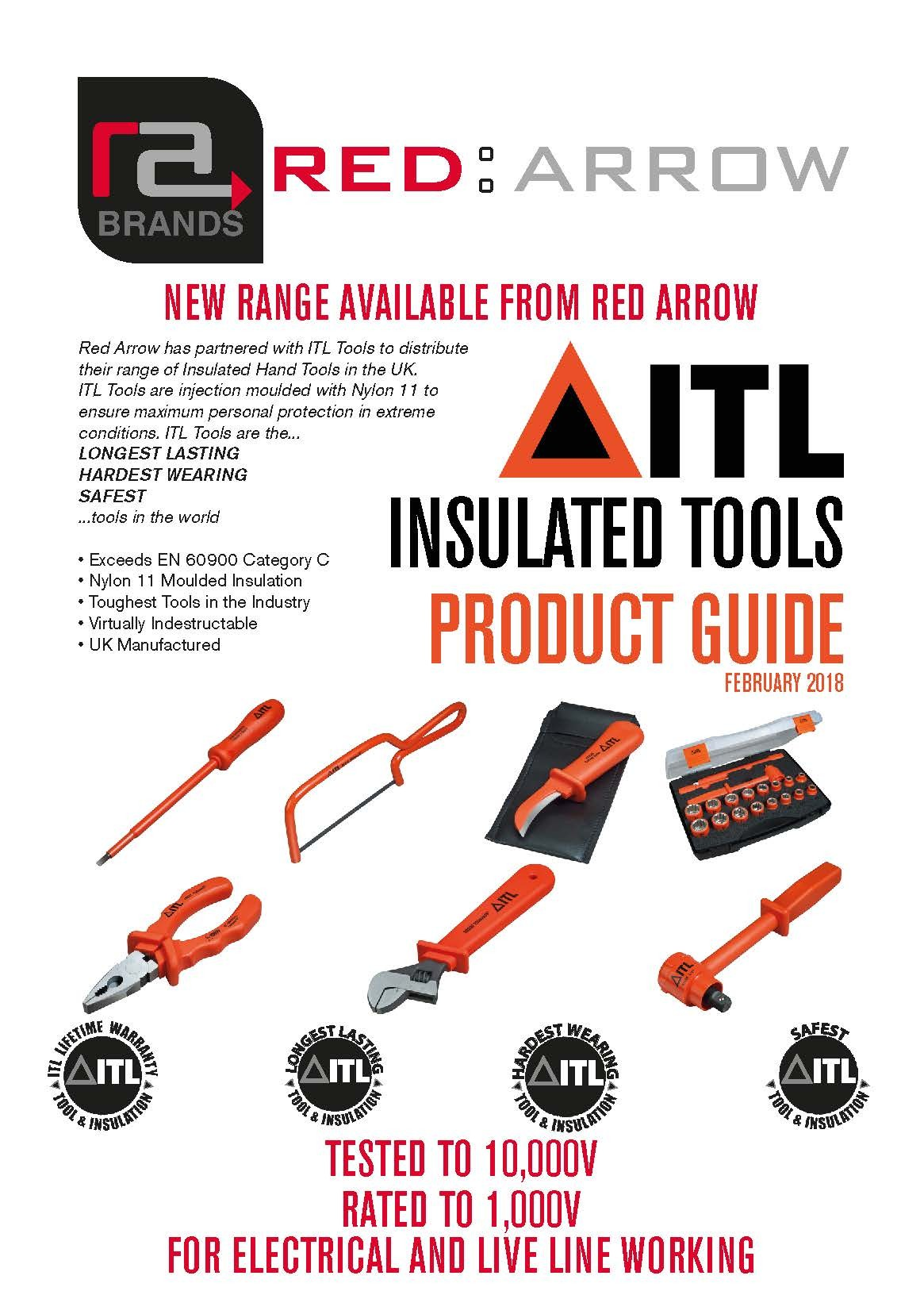 Red Arrow Launches ITL Insulated Hand Tools