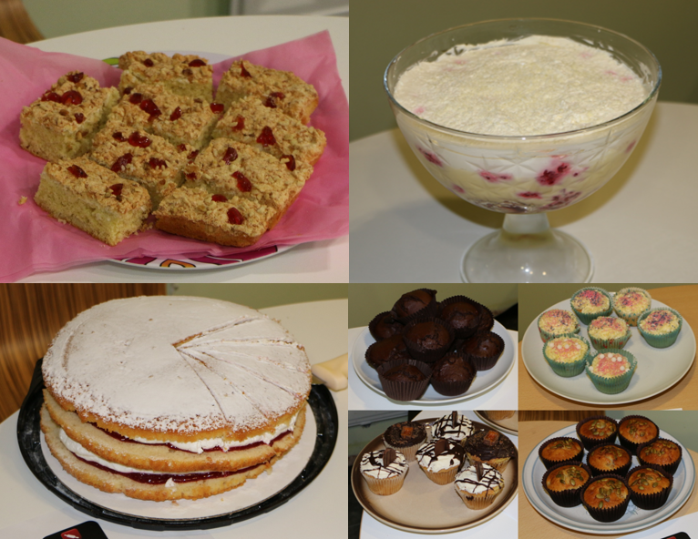 The Red Arrow team get their bake on for charity