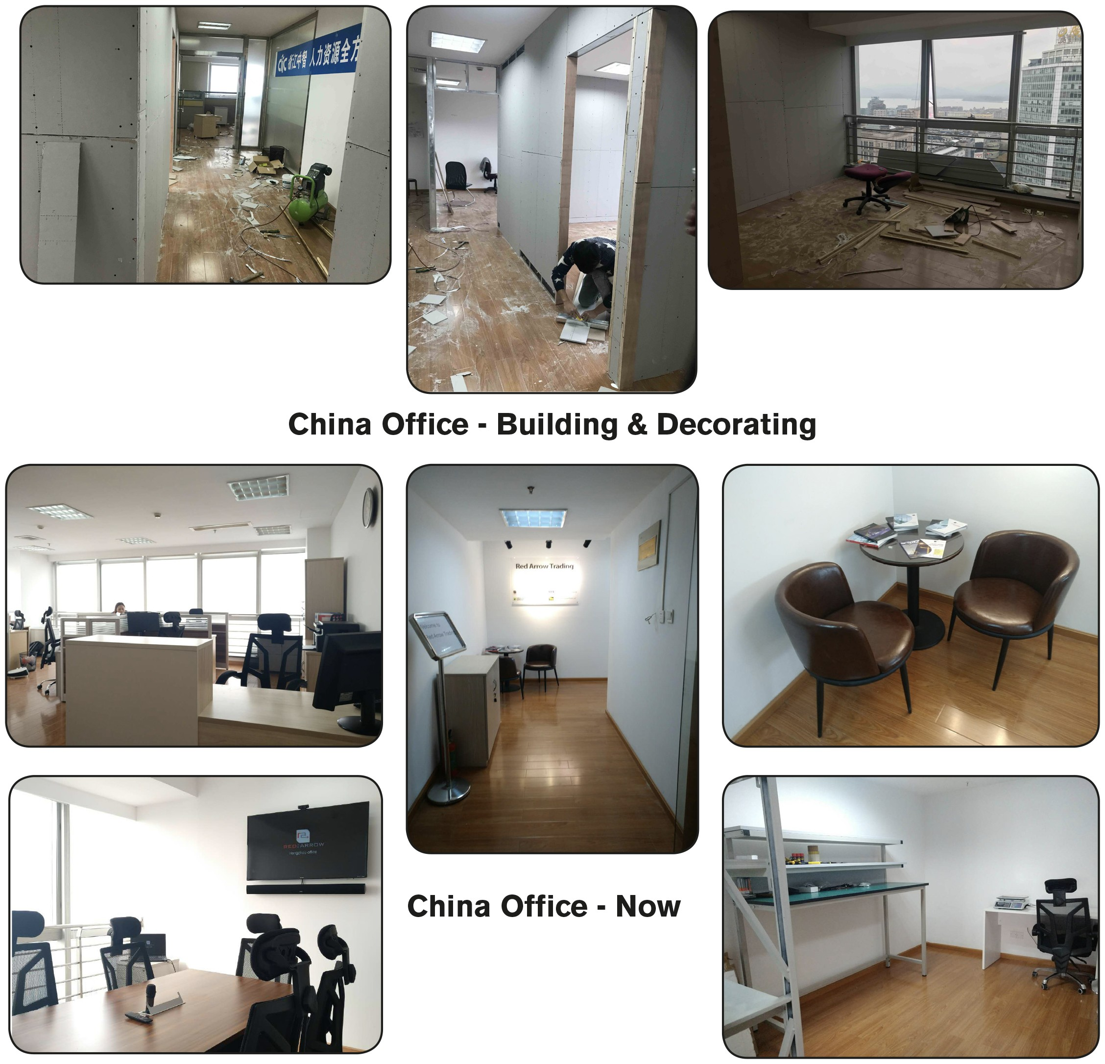 New Premises for the Red Arrow China Office 2018