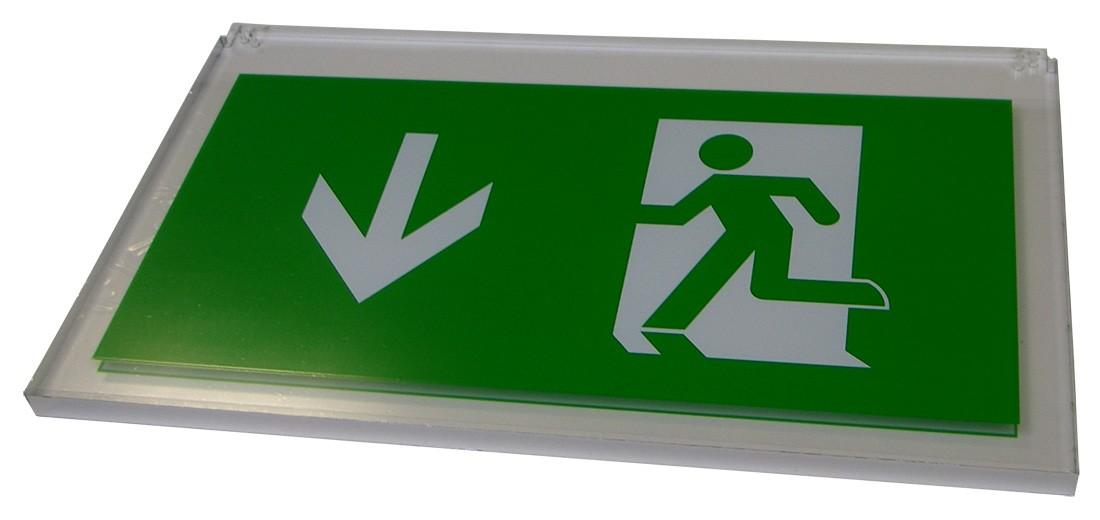 Exit Blade Arrow Down for LFAC502B/LFACLED502B