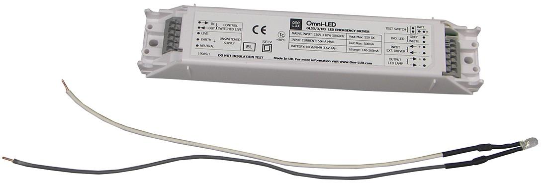 Emergency Module LED 3-55V