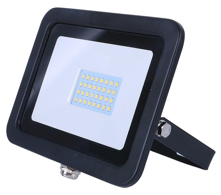 20w SMD AC Floodlight - 6000k - Black