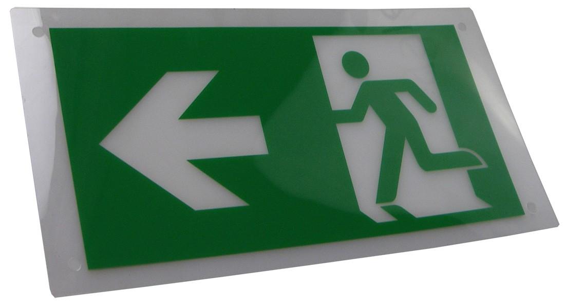 Exit Legend for HTLEDSM-1/HTLEDCWM - Arrow Left and Right