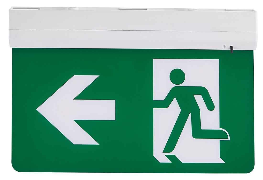 5 in 1 LED Exit sign excluding legend