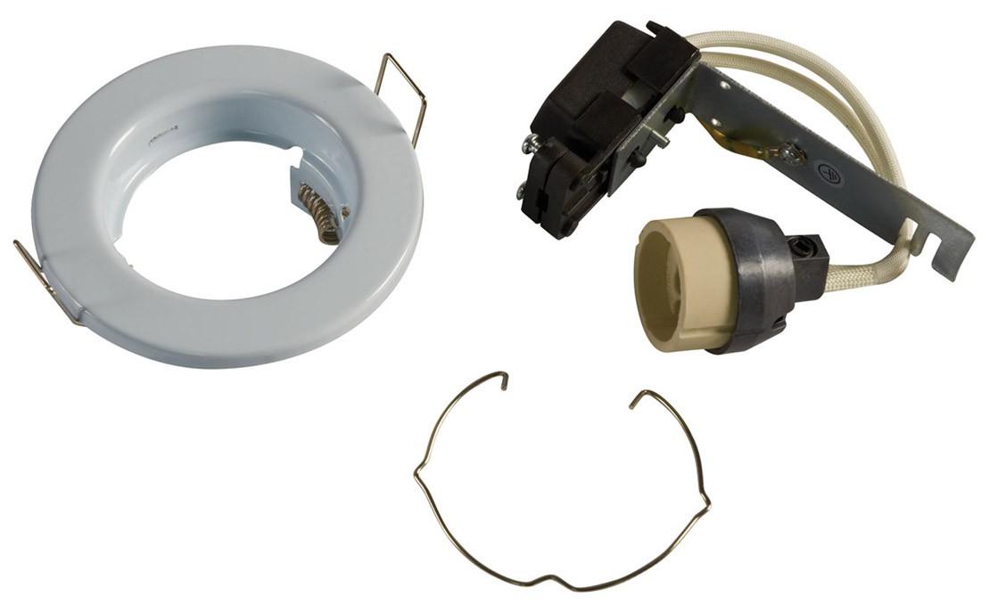 GU10 Downlight - Fixed - White