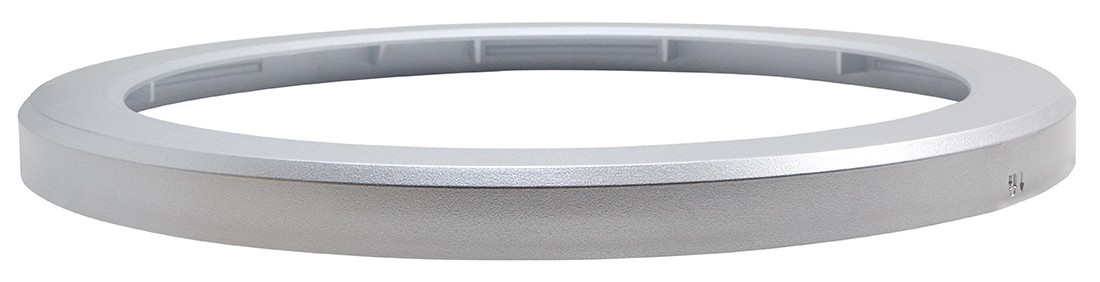 Discus Downlight Bezel Attachment - Silver