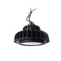 Compact Dimmable High Bay Black 100W 6500K LED