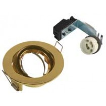 GU10 Downlight Tilt Brass Die Cast
