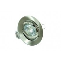 GU10 Downlight Tilt Satin Chrome Die Cast