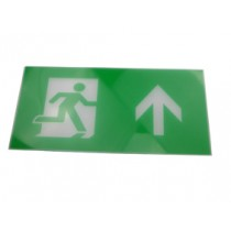 Exit Legend For Exit Box - Arrow points up