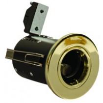 Fire Rated Downlight GU10 Fixed - Brass - Diecast