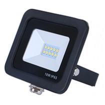 10w SMD AC Floodlight - 6000k - Black
