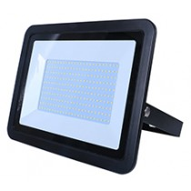 150W SMD AC Floodlight Photocell - 6000K - Black