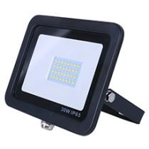 30w SMD AC Floodlight - 3100k - Black