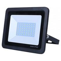 50w SMD AC Floodlight - 6000k - Black