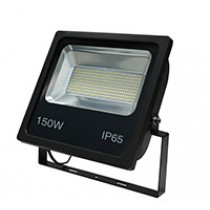 150W SMD LED Floodlight 6500K Black