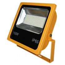 150W SMD LED Floodlight 6500K Yellow