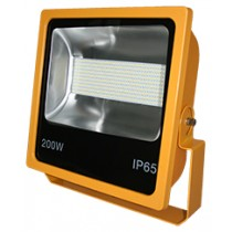 200W SMD LED Floodlight 6500K Yellow