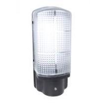 LED Bulkhead Light 6W with Photocell - Black