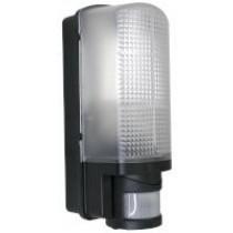 LED Bulkhead Light 6W with PIR - Black