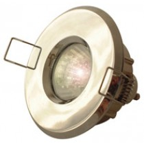 IP65 GU10 Shower Light - Brass