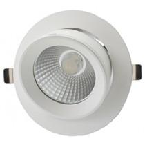 Wallwasher LED Circular Shoplight 30W 4000K White