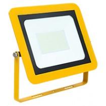 Site Floodlight AC 110V 100W 6500K LED IP65 Yellow