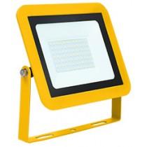 Site Floodlight AC 110V 50W 6500K LED IP65 Yellow