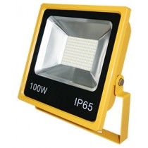 100W SMD LED Floodlights 6500K Yellow