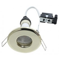 Hoop Plus Downlight Die Cast GU10 IP65 Brass