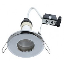 Hoop Plus Downlight Die Cast GU10 IP65 Chrome