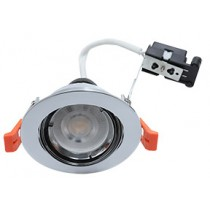 Hoop Plus Downlight Die Cast GU10 Tilt Chrome