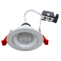 Hoop Plus Downlight Die Cast GU10 Tilt White
